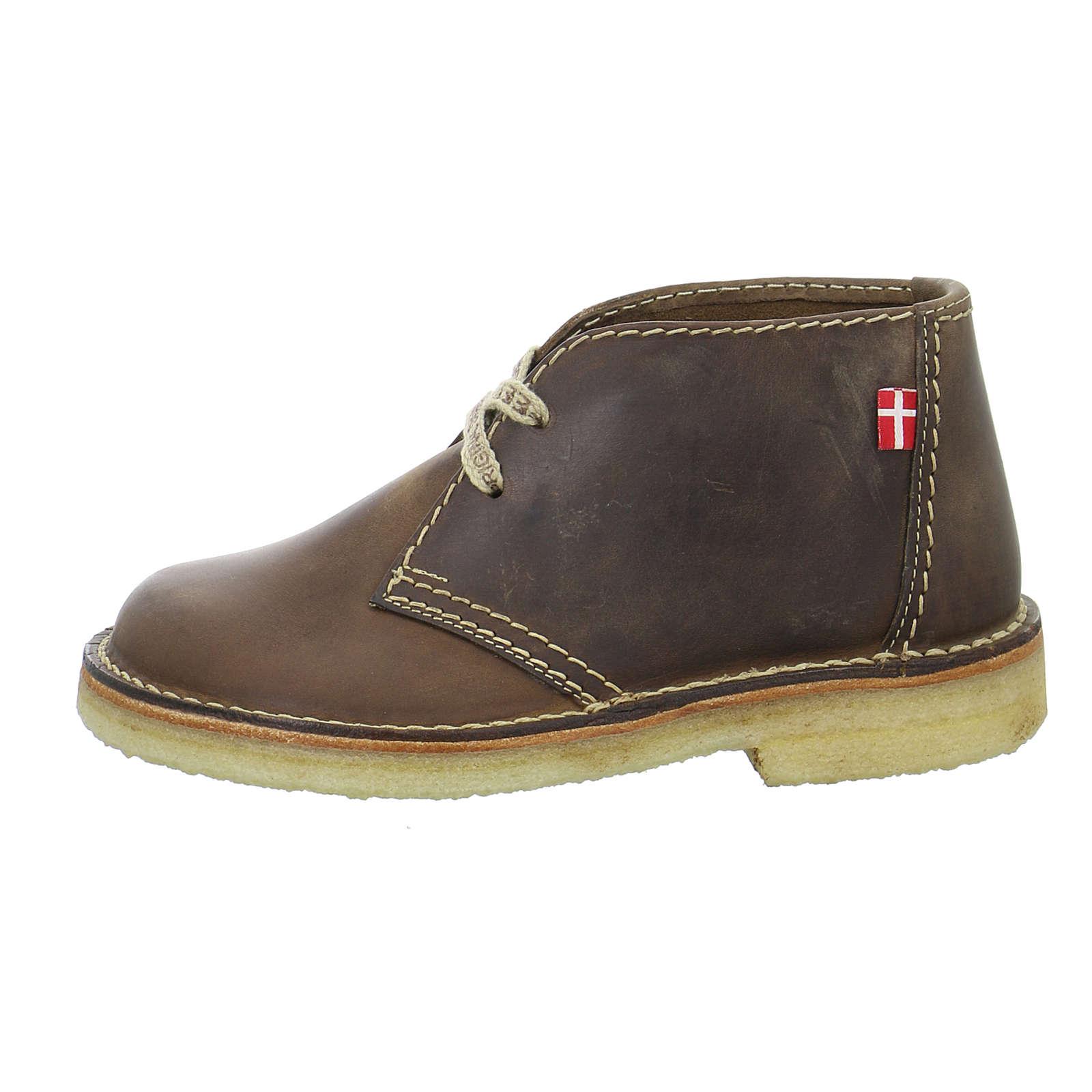 Duckfeet Sjaelland Desert Boots braun-kombi Damen Gr. 39