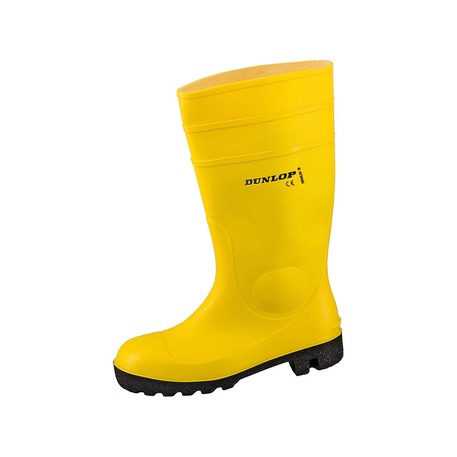 Dunlop Sicherheitsstiefel Protomastor gelb Gr. 45