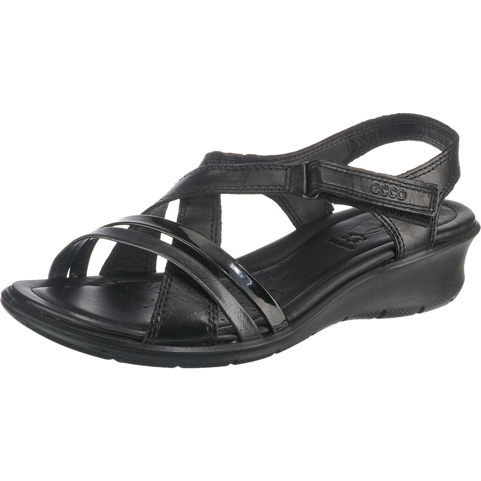 ECCO FELICIA SANDAL Klassische Sandaletten schwarz Damen Gr. 36
