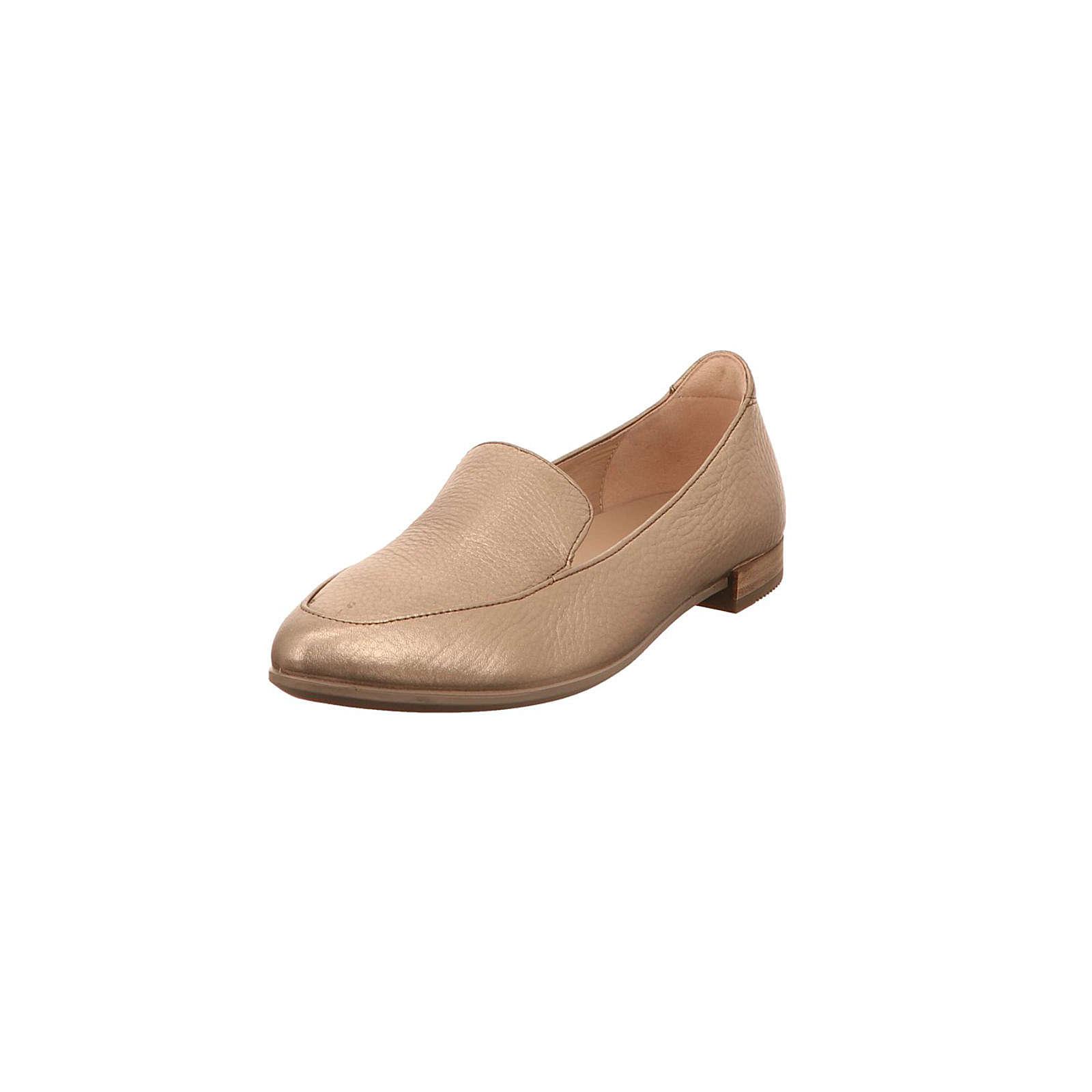 ecco Klassische Slipper bronze Damen Gr. 37