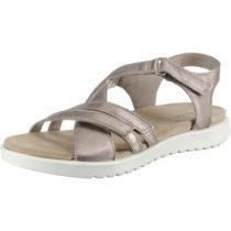 ecco Sandalen für Mädchen silber Mädchen Gr. 33