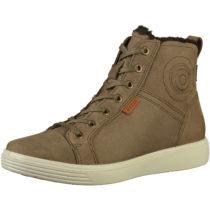 ecco Sneakers High braun Damen Gr. 39
