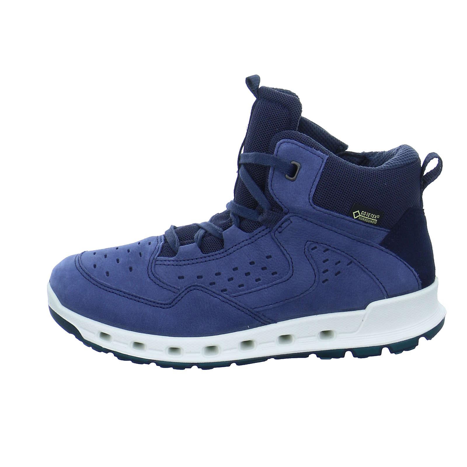 ecco Sneakers Hight für Jungen blau Junge Gr. 30