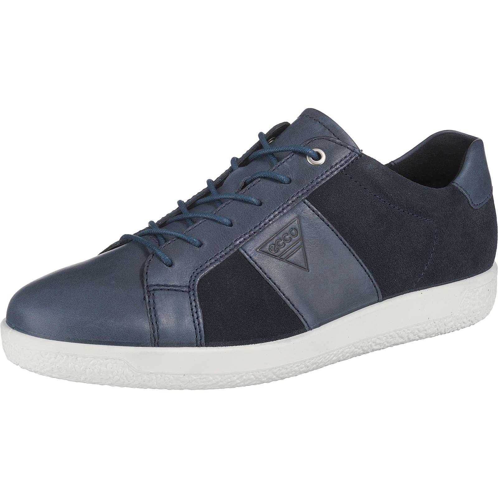 ecco SOFT 1 MEN´S Sneakers Low blau Herren Gr. 42