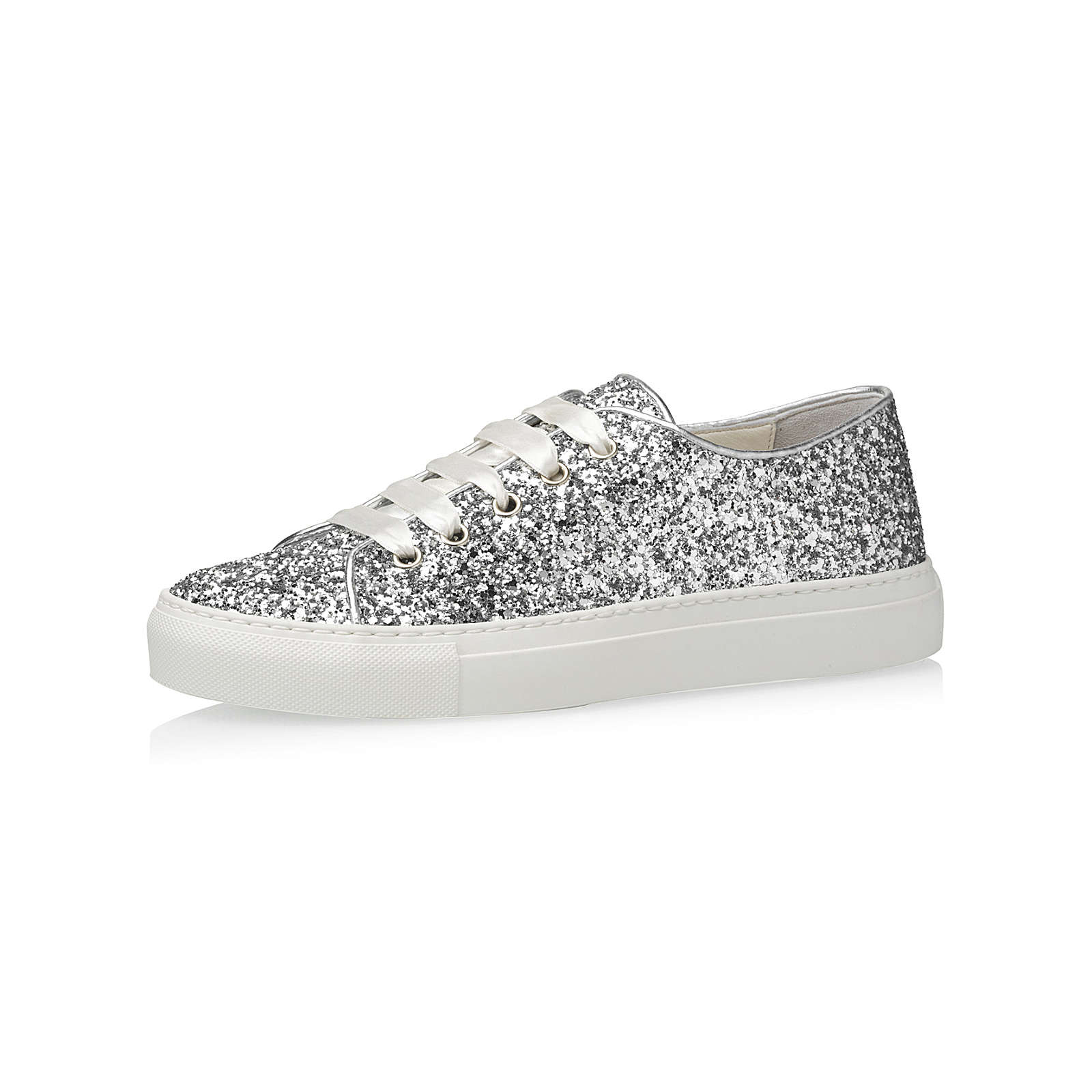 Elsa Coloured Shoes Fiarucci Brautschuhe Suzan-silber Sneakers Low silber Damen Gr. 39