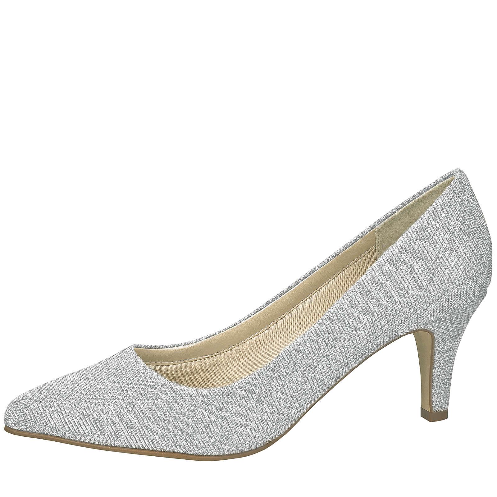 Elsa Coloured Shoes Rainbow Club Brautschuhe Brooke silber Klassische Pumps silber Damen Gr. 41