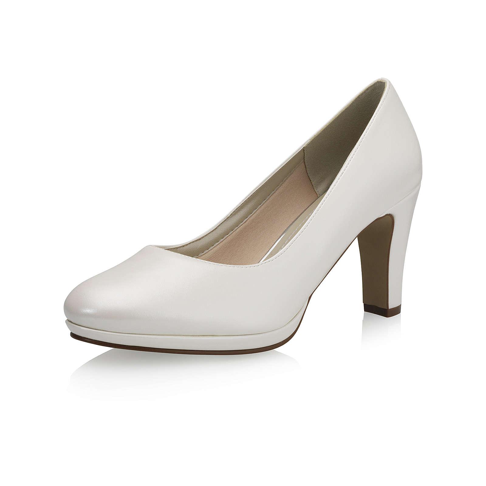 Elsa Coloured Shoes Rainbow Club Brautschuhe Crazy Flirt Plateau-Pumps creme Damen Gr. 37,5