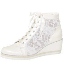 Elsa Coloured Shoes Rainbow Club Brautschuhe Tamara Sneakers High creme Damen Gr. 36
