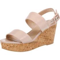 ESPRIT Anna 2 band sandal Keilsandaletten nude Damen Gr. 40