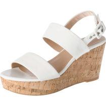 ESPRIT Anna 2 band sandal Keilsandaletten weiß Damen Gr. 40