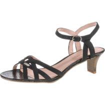 ESPRIT Birkin Nub Klassische Sandaletten schwarz Damen Gr. 36