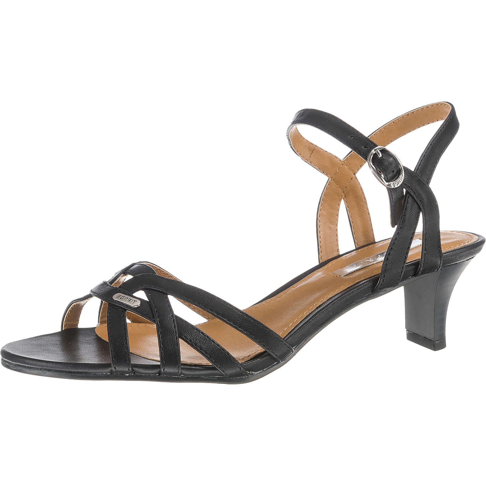 ESPRIT Birkin Sandal Klassische Sandaletten schwarz Damen Gr. 36