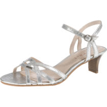 ESPRIT Birkin Sandal Klassische Sandaletten silber Damen Gr. 36