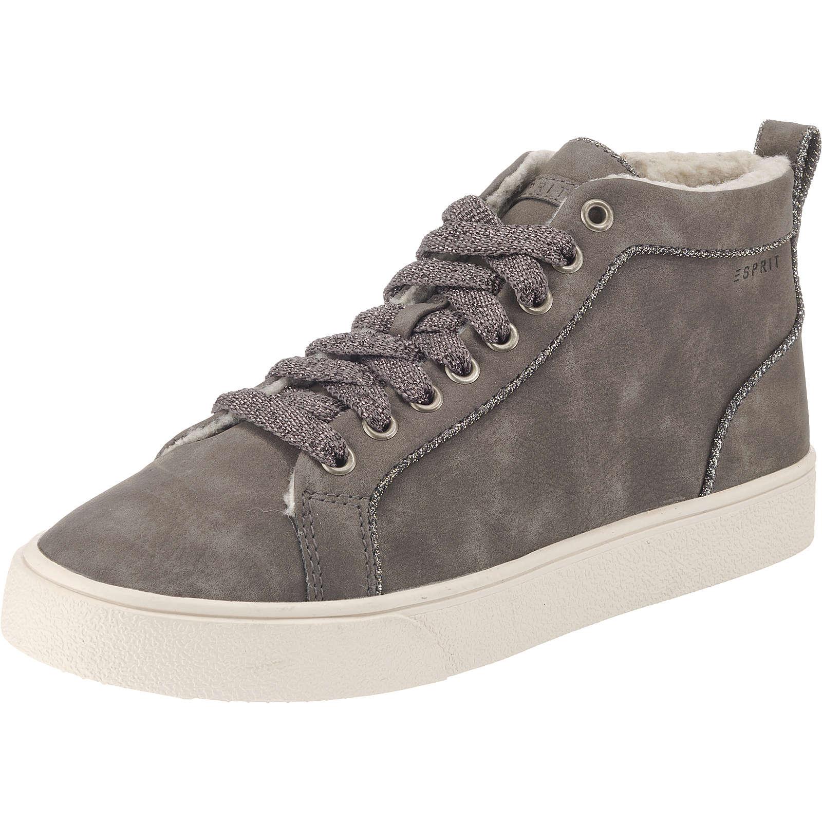 ESPRIT CHERRY Sneakers High grau Damen Gr. 40