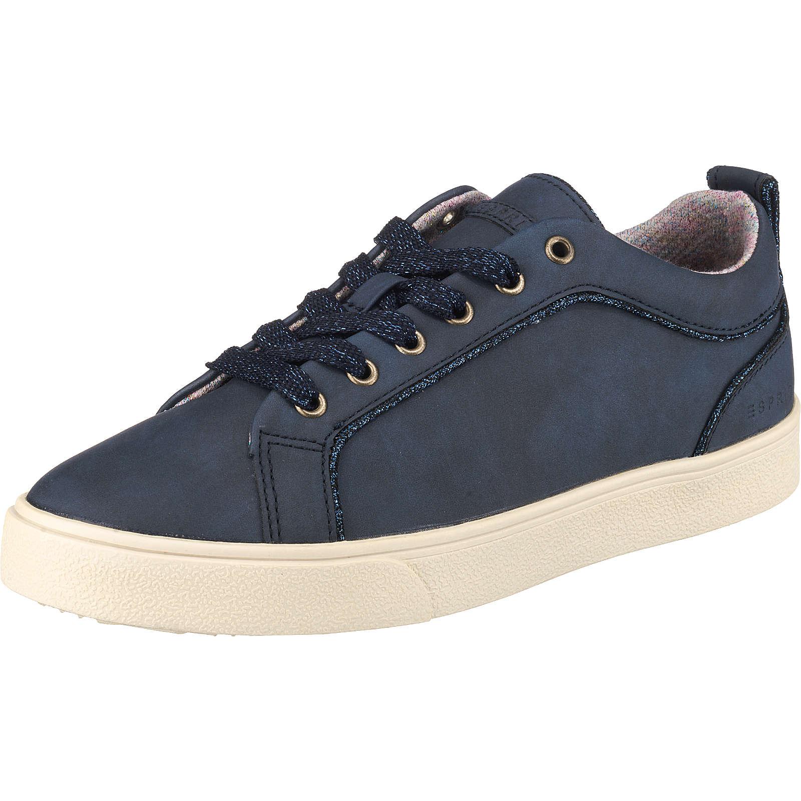 ESPRIT Cherry Sneakers Low dunkelblau Damen Gr. 36