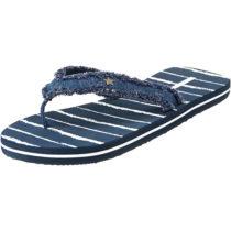 ESPRIT Danny Stripe Pantoletten blau Damen Gr. 36