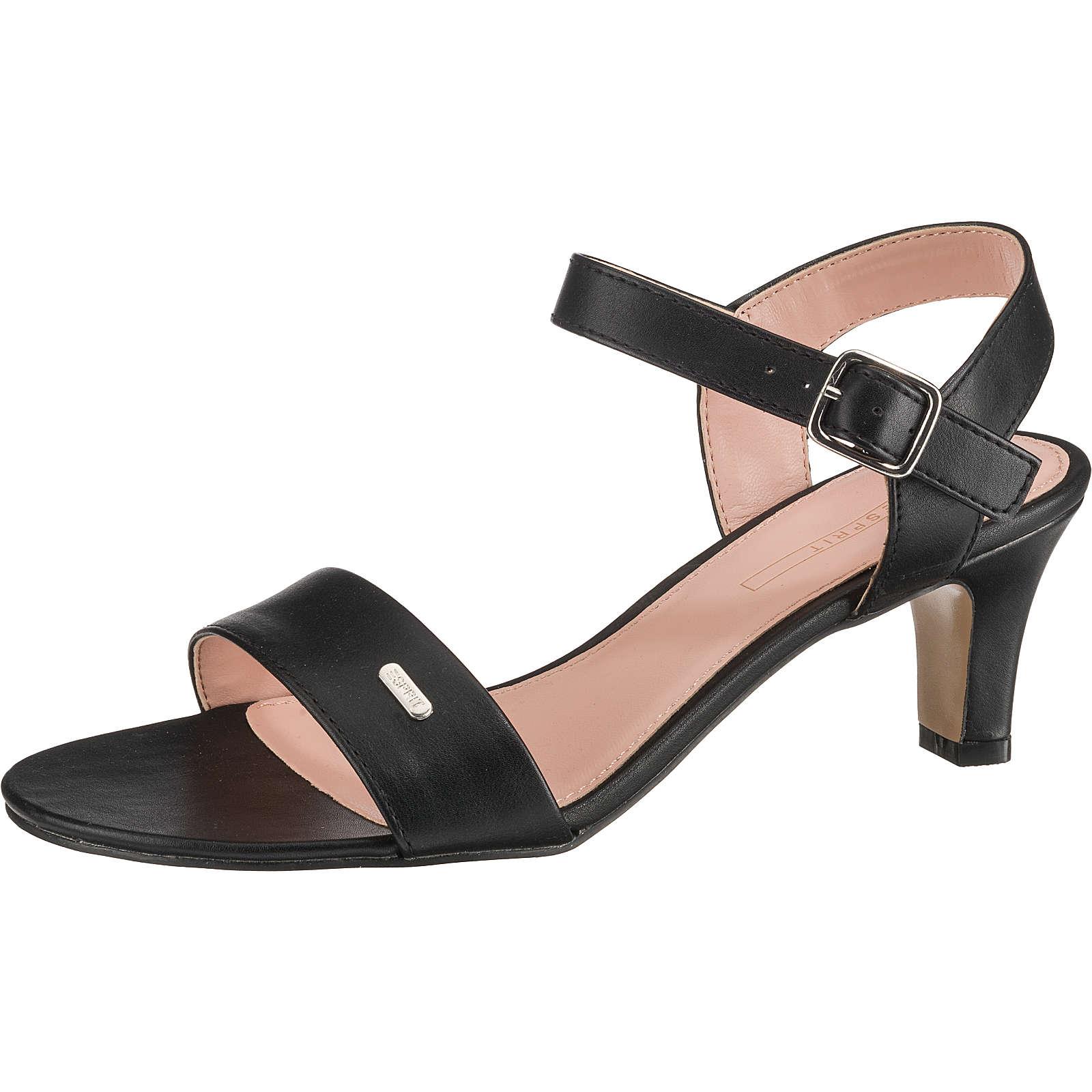 ESPRIT Delfy Sandal Klassische Sandaletten schwarz Damen Gr. 36