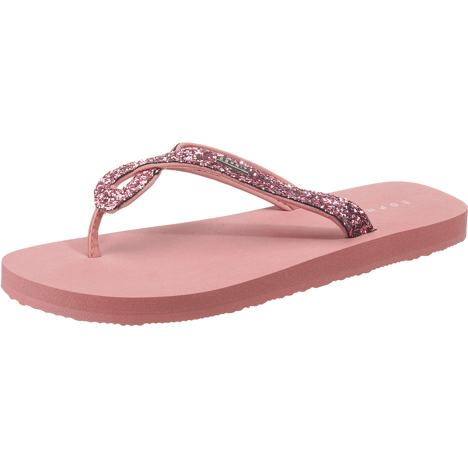 ESPRIT Denise Glitter Pantoletten pink Damen Gr. 36