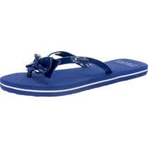 ESPRIT Doro Bow Pantoletten blau Damen Gr. 36