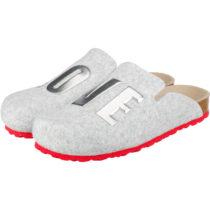 ESPRIT Pantoffeln grau Damen Gr. 41
