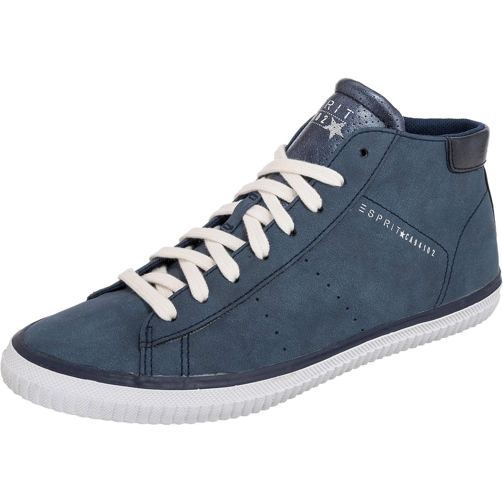 ESPRIT Riata Bootie Sneakers High blau Damen Gr. 36