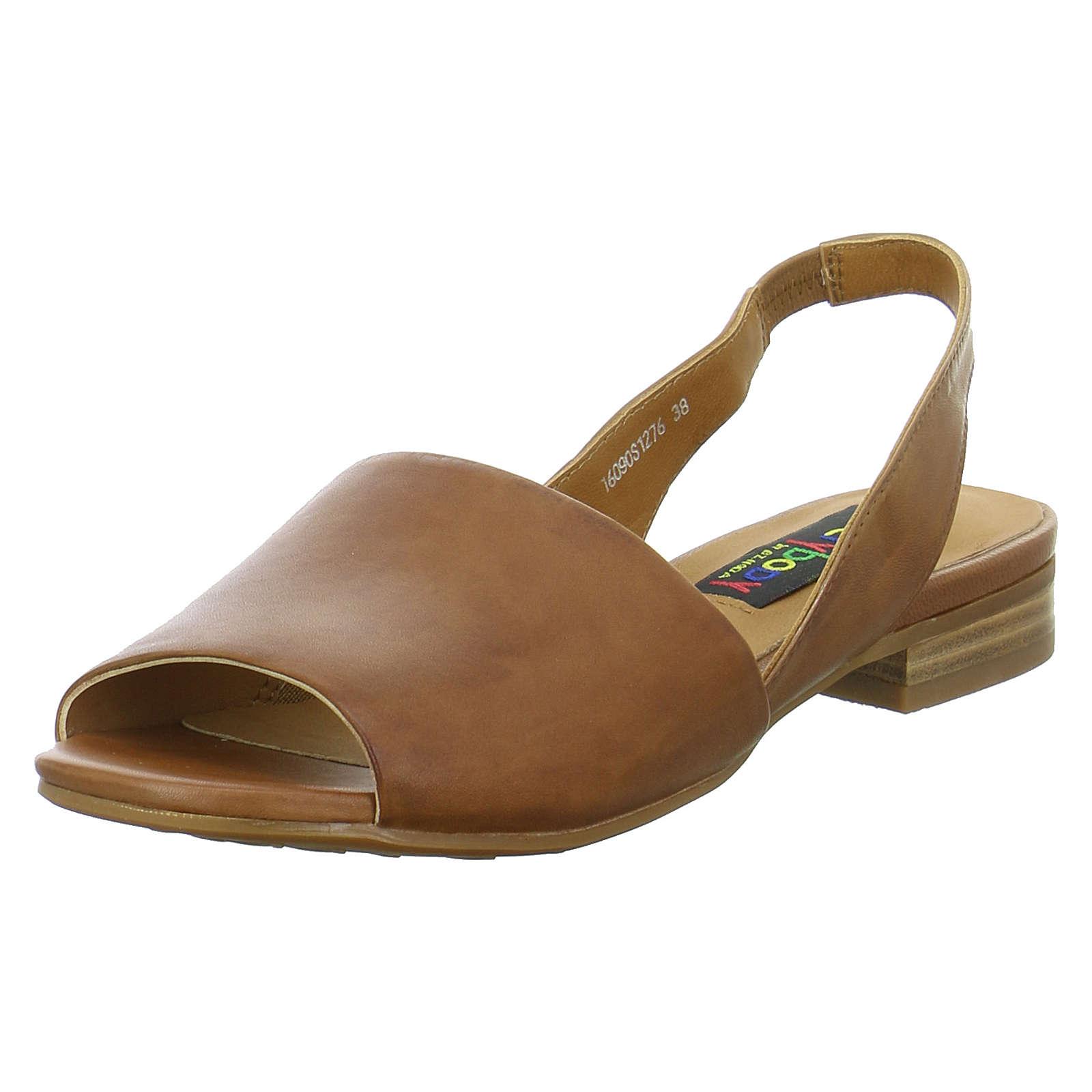 Everybody Sandaletten 16090 Klassische Sandaletten braun Damen Gr. 40