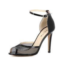 Evita Shoes ALESSANDRA Peeptoe-Pumps schwarz Damen Gr. 37