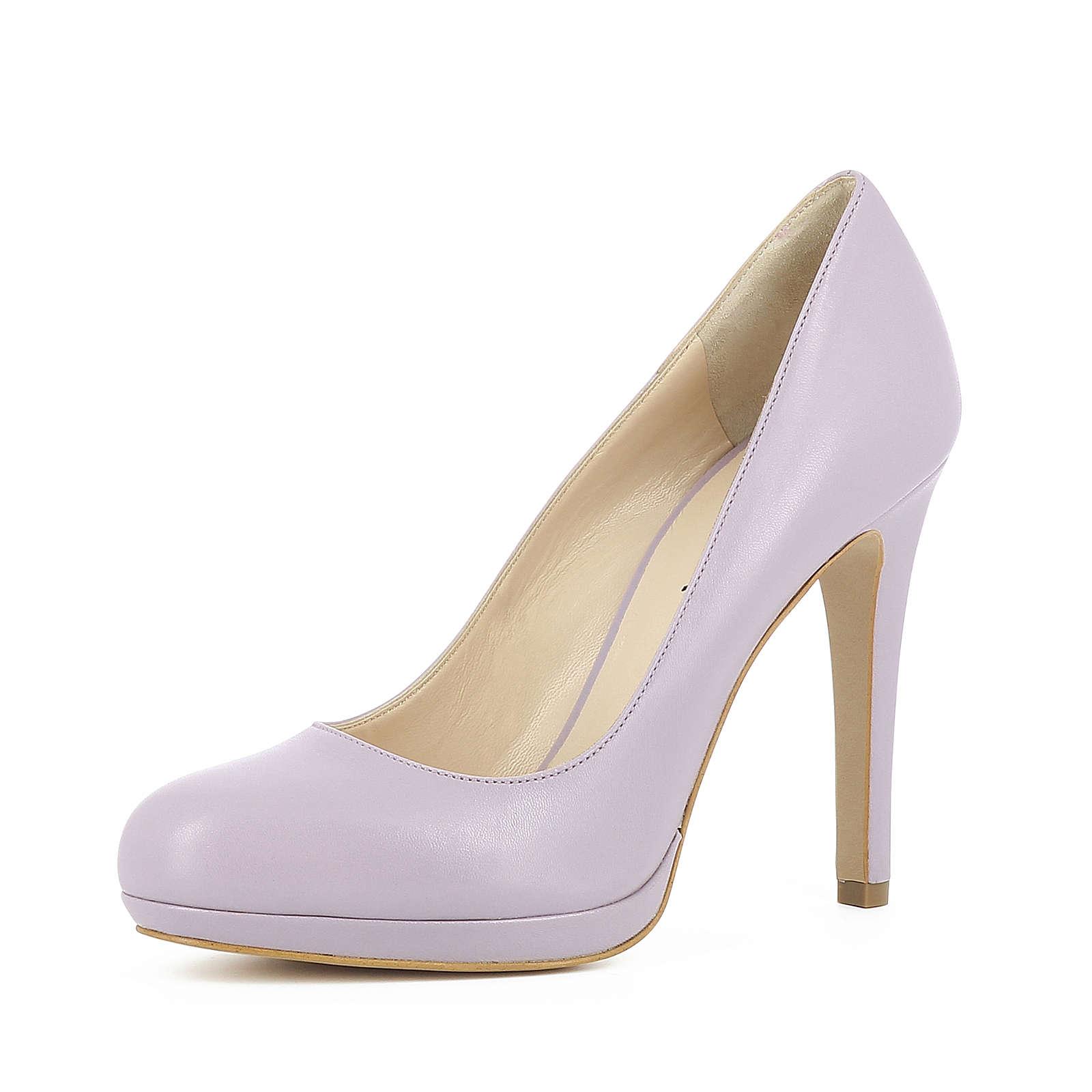 Evita Shoes CRISTINA Plateau-Pumps flieder Damen Gr. 39