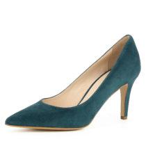 Evita Shoes Damen Pumps ARIA Klassische Pumps petrol Damen Gr. 35