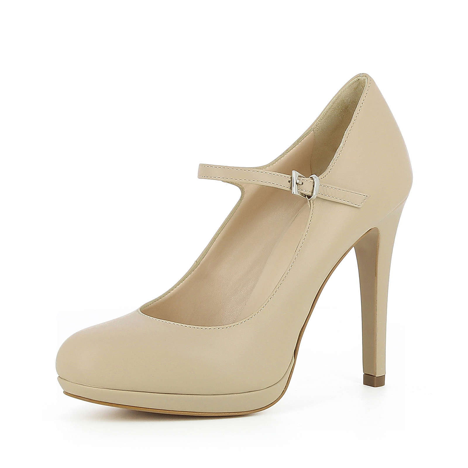 Evita Shoes Damen Pumps CRISTINA Spangenpumps beige Damen Gr. 36