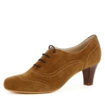 Evita Shoes Damen Pumps GIUSY Schnürpumps cognac Damen Gr. 42