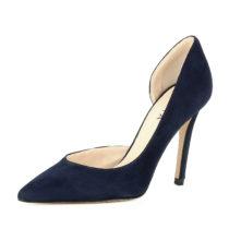 Evita Shoes Damen Pumps halboffen ALINA Klassische Pumps dunkelblau Damen Gr. 35