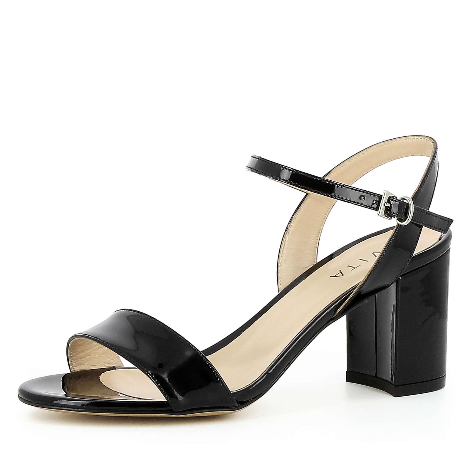 Evita Shoes Damen Sandalette AMBRA Klassische Sandaletten schwarz Damen Gr. 37