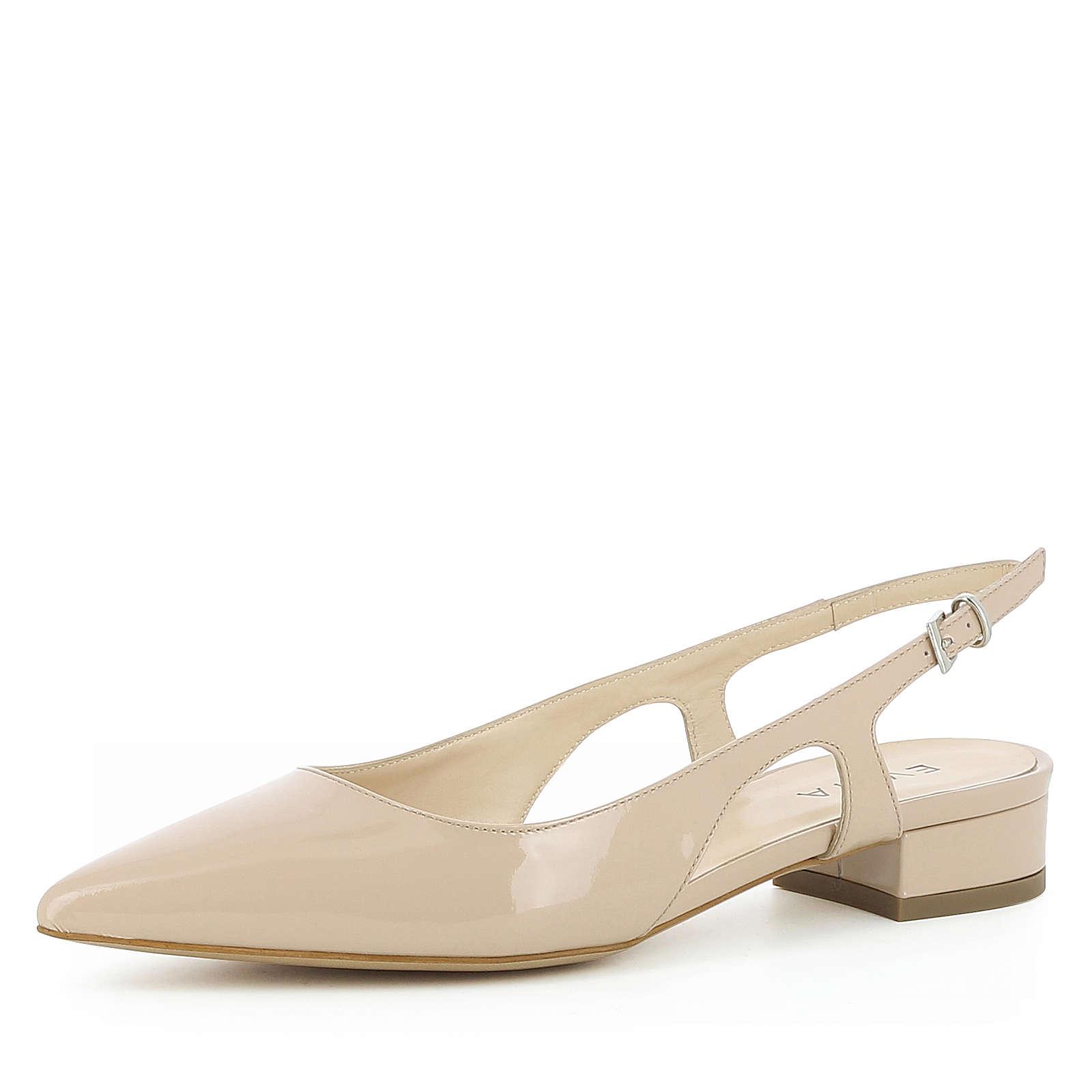 Evita Shoes Damen Sling Pumps FRANCA Komfort-Pumps nude Damen Gr. 34