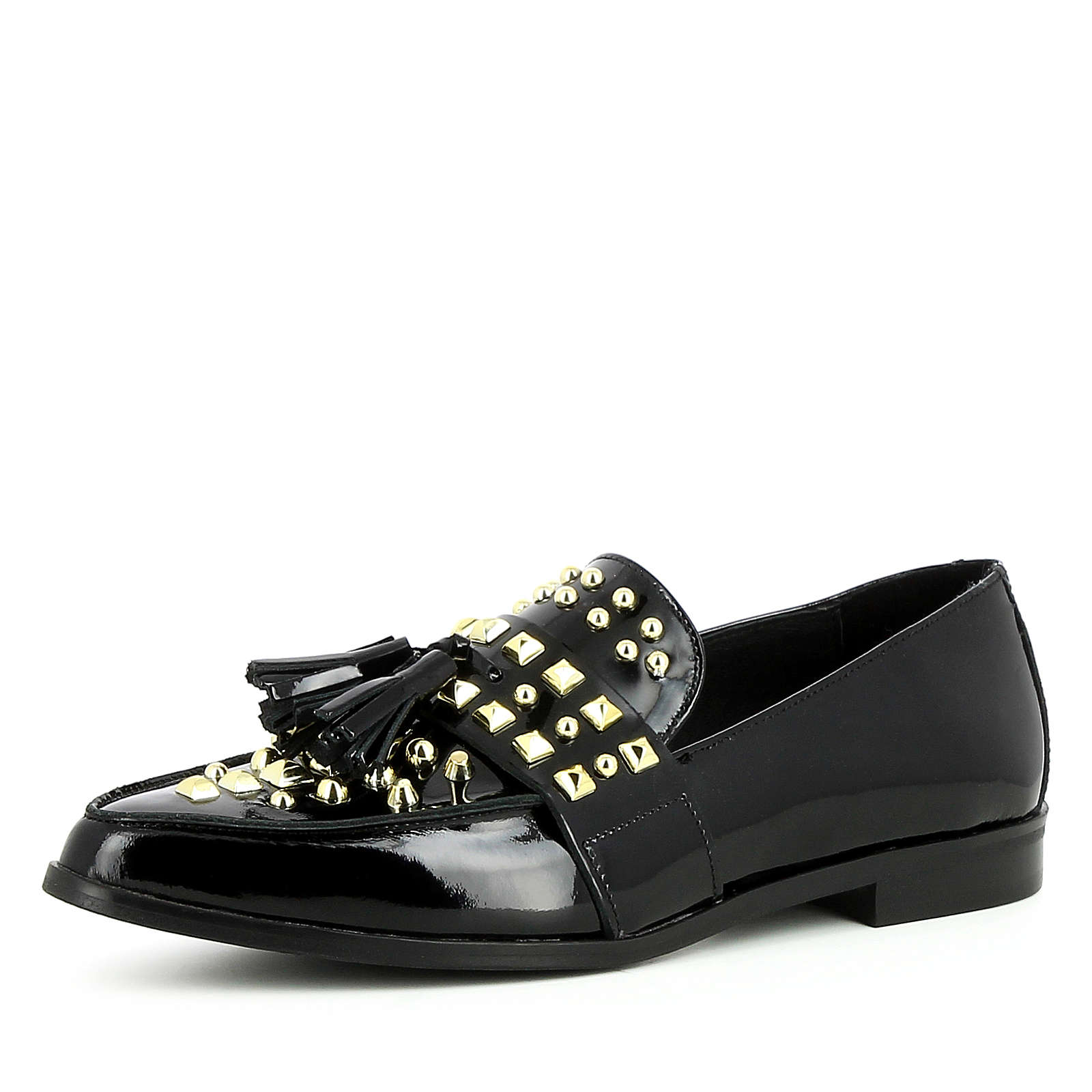 Evita Shoes Damen Slipper FILIPA Klassische Slipper schwarz Damen Gr. 38