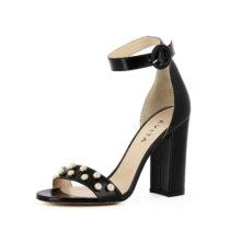 Evita Shoes EVA Klassische Sandaletten schwarz Damen Gr. 42