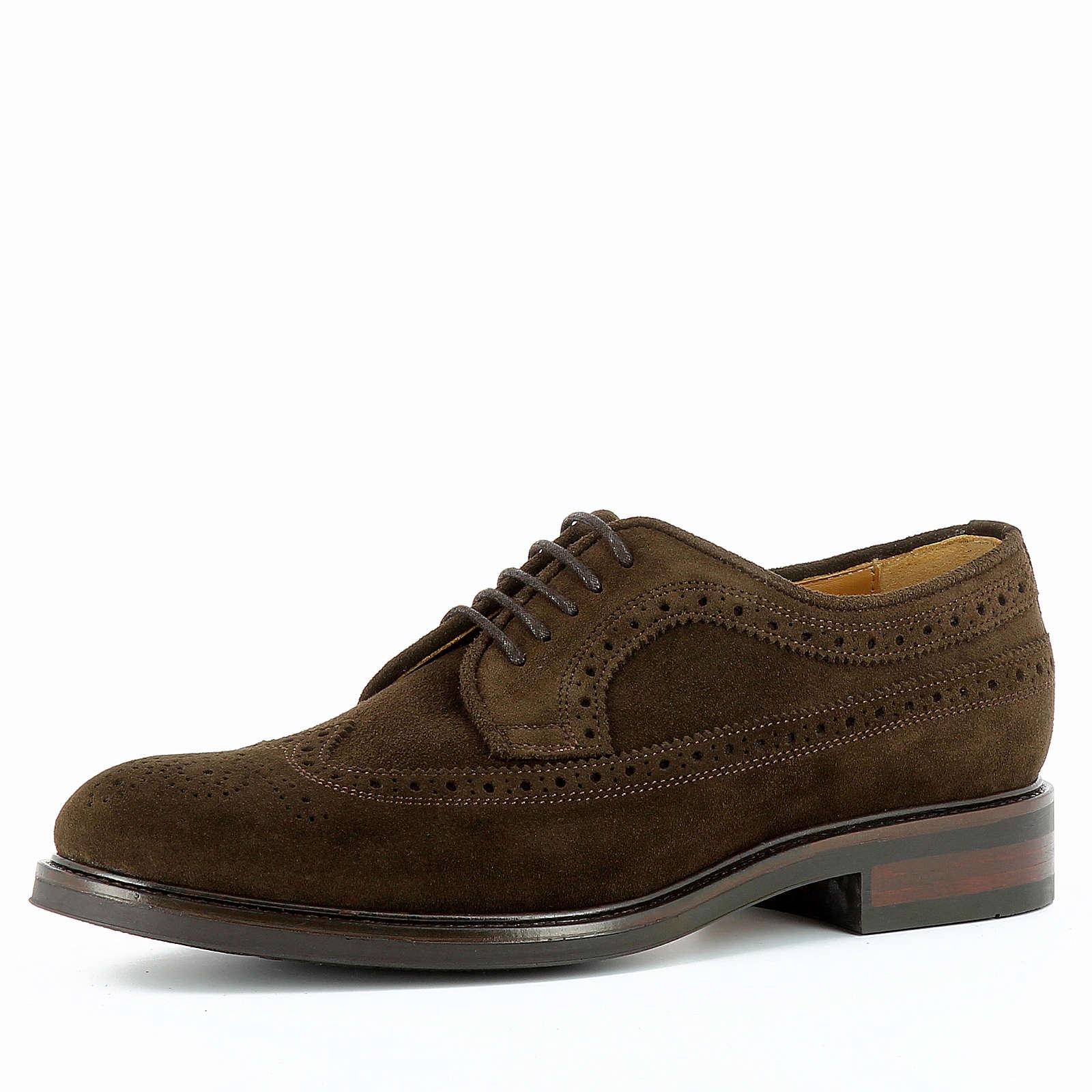Evita Shoes Halbschuhe ADRIANO dunkelbraun Herren Gr. 44