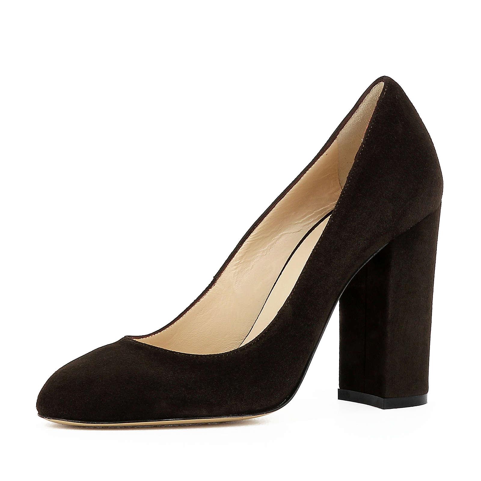 Evita Shoes Pumps dunkelbraun Damen Gr. 34