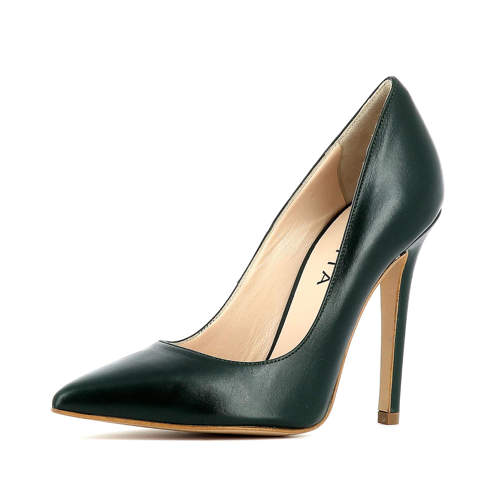 Evita Shoes Pumps dunkelgrün Damen Gr. 33