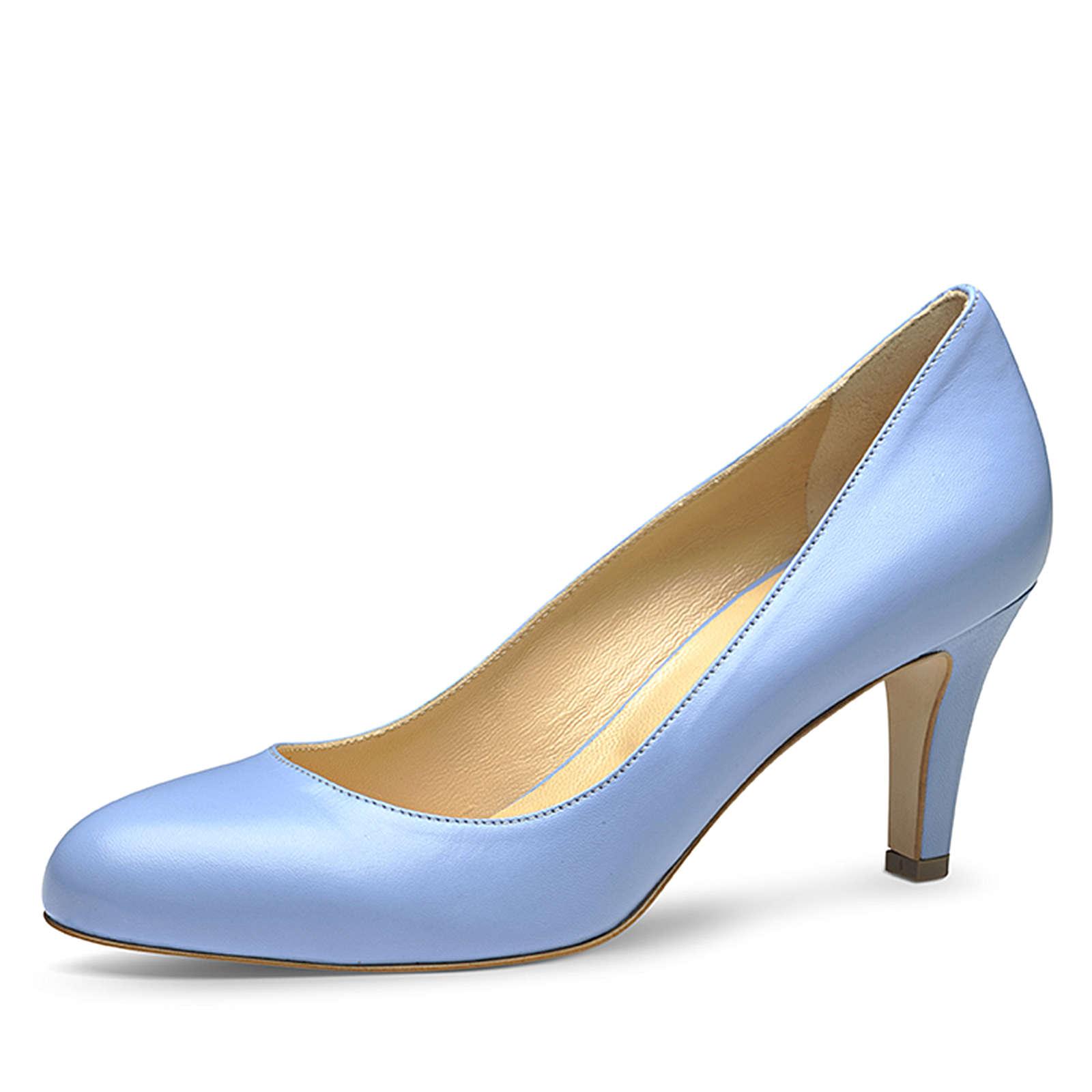 Evita Shoes Pumps hellblau Damen Gr. 34