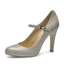 Evita Shoes Pumps hellgrau Damen Gr. 42