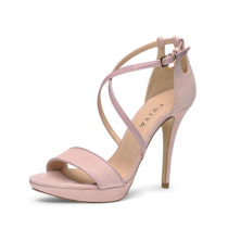 Evita Shoes Sandaletten altrosa Damen Gr. 42