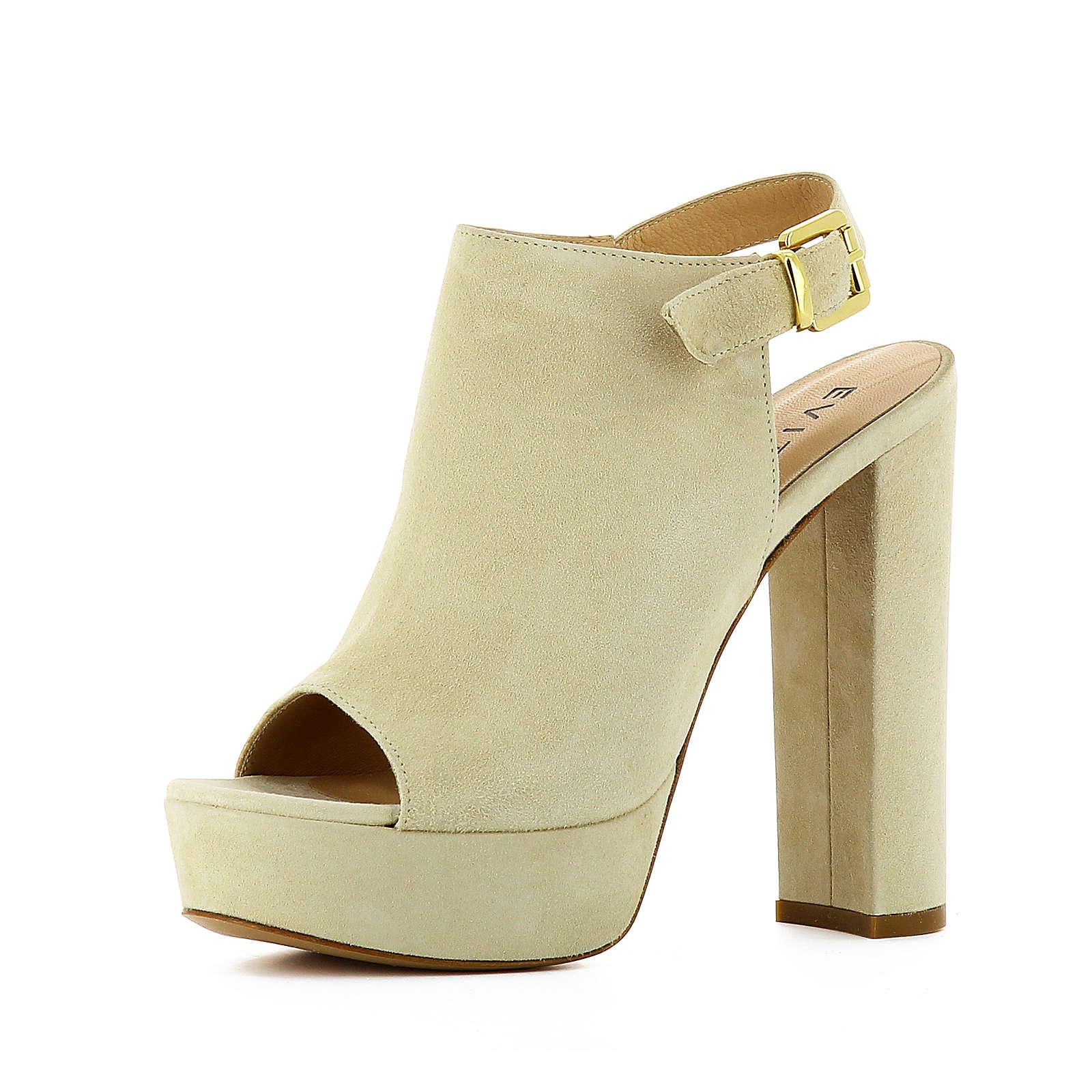 Evita Shoes Sandaletten beige Damen Gr. 41