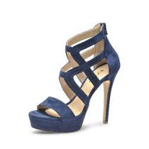 Evita Shoes Sandaletten blau Damen Gr. 41