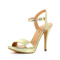 Evita Shoes Sandaletten gold Damen Gr. 34