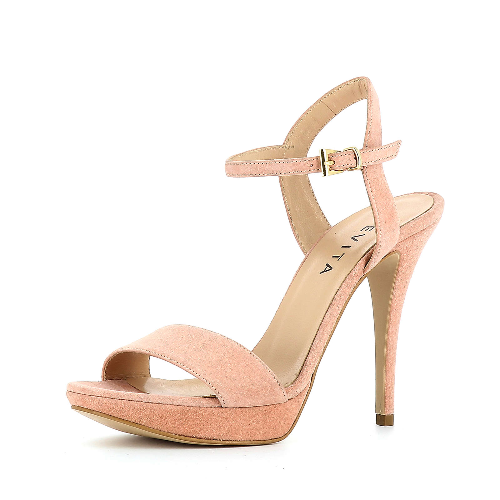 Evita Shoes Sandaletten rosa Damen Gr. 42
