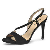 Evita Shoes Sandaletten schwarz Damen Gr. 38