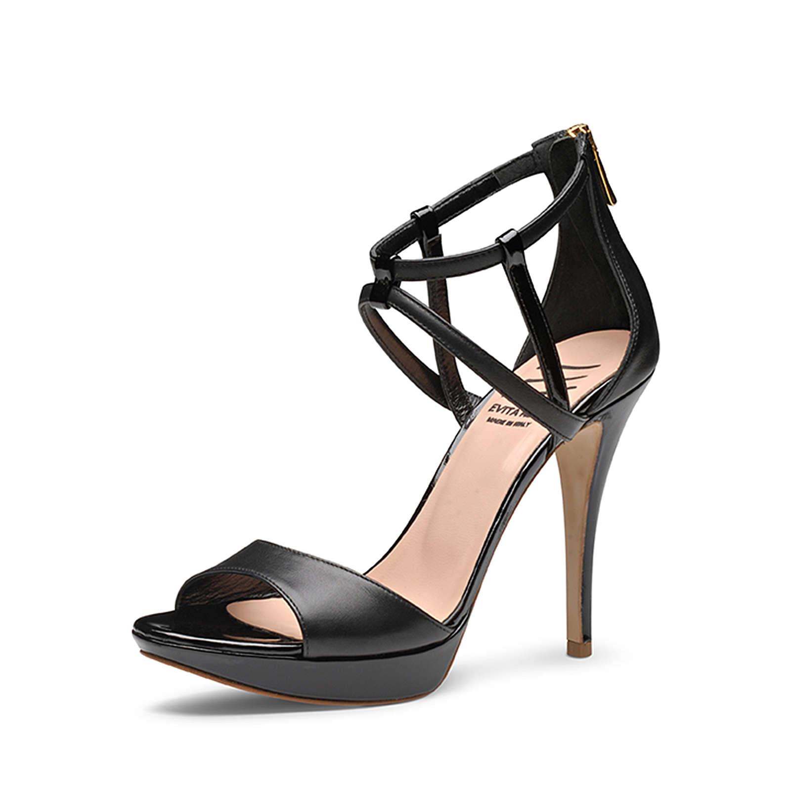 Evita Shoes Sandaletten schwarz Damen Gr. 39