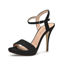Evita Shoes Sandaletten schwarz Damen Gr. 40