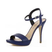 Evita Shoes VALERIA Klassische Sandaletten blau Damen Gr. 39